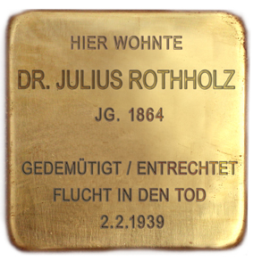 Dr. Julius Rotholz
